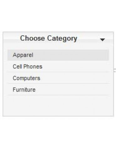 Virtuemart Dropdown Category