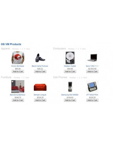 Virtuemart Products