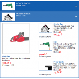 VirtueMart Categories Module