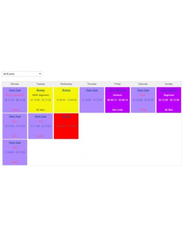 Timetable Component