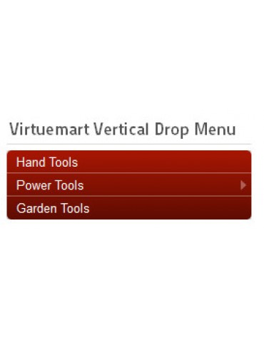 Virtuemart Vertical Drop Menu