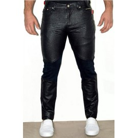 1/2 Coated Jeans