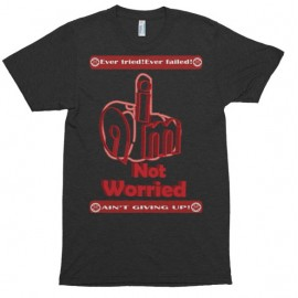 I am not worried – Short sleeve t-shirt