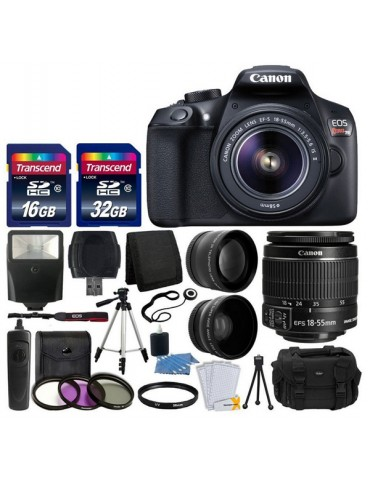 Canon EOS Rebel T6 Digital SLR Camera with 18-55mm EF-S f/3.5-5.6 IS