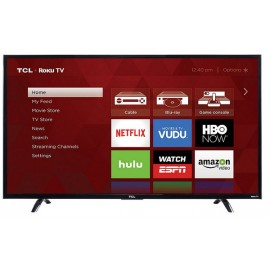 TCL 43UP130 43-Inch 4K Ultra HD Roku Smart LED TV (2016 Model)