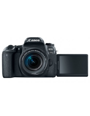 Canon EOS 77D 24.2 MP DSLR  & Canon Pixma MG3620 Wireless Printer