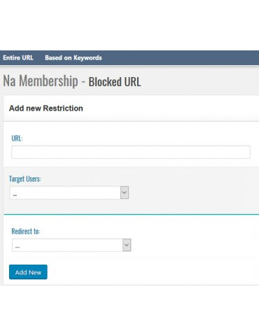 NA Membership for Wordpress