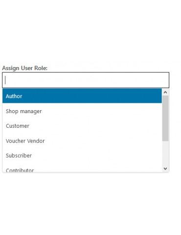 User roles for woocommerce