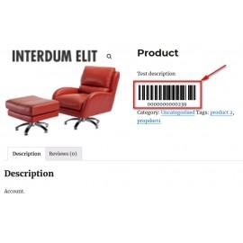 JT Woocommerce Barcode