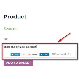 JT WooCommerce Social Share Discount Coupon