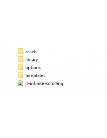 JT Infinite Scrolling - Wordpress plugin
