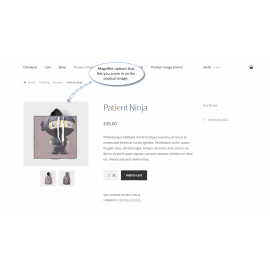WooCommerce Product Image Zoom Plugin, Magnify Zoom on Hover & Click