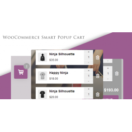 WooCommerce Smart Popup Cart + Ajax add to cart
