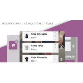 WooCommerce Smart Popup Cart + Ajax add to cart