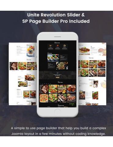 Appetite Restaurant / Food Service Joomla Template