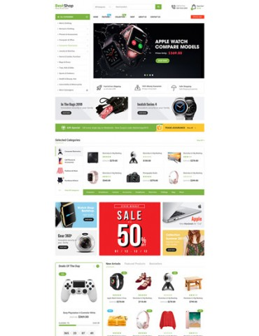 BestShop - MultiPurpose Marketplace OpenCart 3 Theme