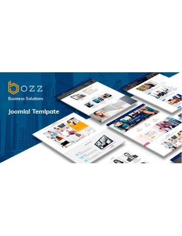 Bozz Corporate and Business Responsive Joomla Template