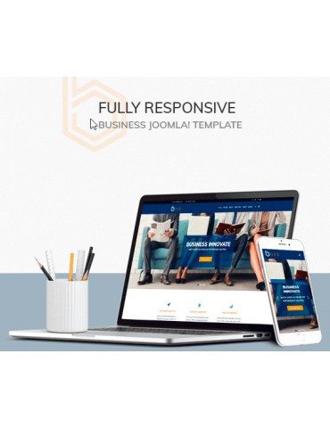 Bozz Corporate and Business Responsive Joomla Template