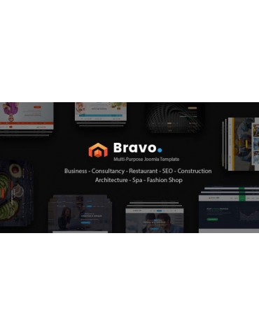 Bravo - Responsive Multi Purpose Joomla Template