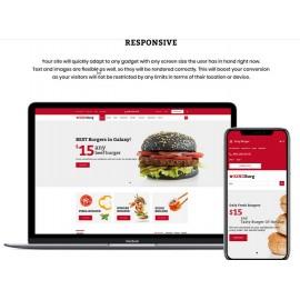 KingBurg - Burger OpenCart Template