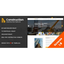 Construction - Building & Architect Joomla Template