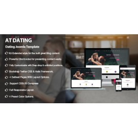 Responsive Dating Joomla template