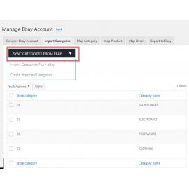 WooCommerce eBay Connector Wordpress Plugin