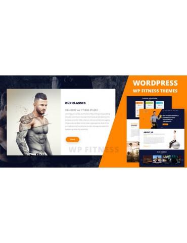 WP Fitness Pro - WordPress Theme