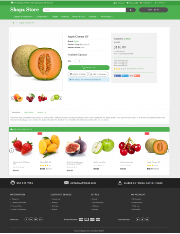 Shopz Fruit Zone Fresh Fruit Natural Fruit
