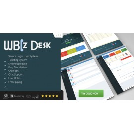 WBiz Desk - Simple and Effective Help Desk System