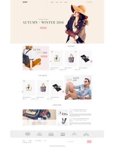 Minet - Minimalist eCommerce WordPress Theme