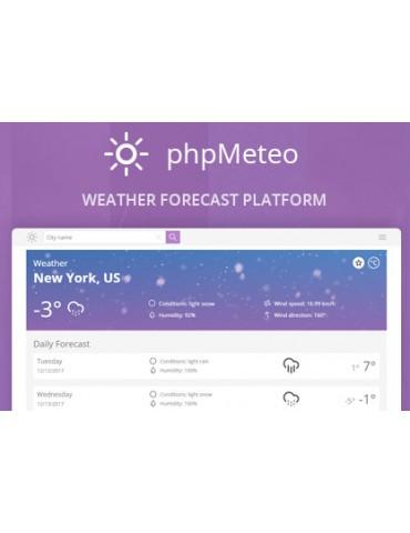 phpMeteo - Weather Forecast Platform