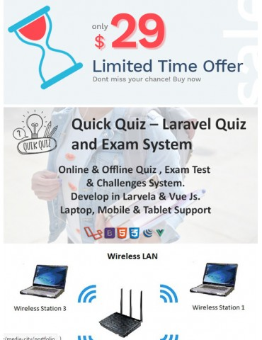 Quick Quiz – Laravel Quiz and Exam System
