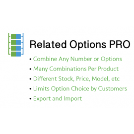 Related Options PRO Take Product Options to the Next Level