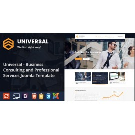 Business Consulting and Professional Services Joomla Theme