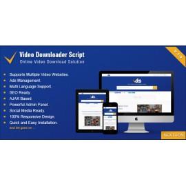 Video Downloader Script - All In One Video Downloader