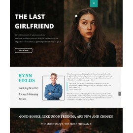 AT Writer – Responsive Writer Joomla Template