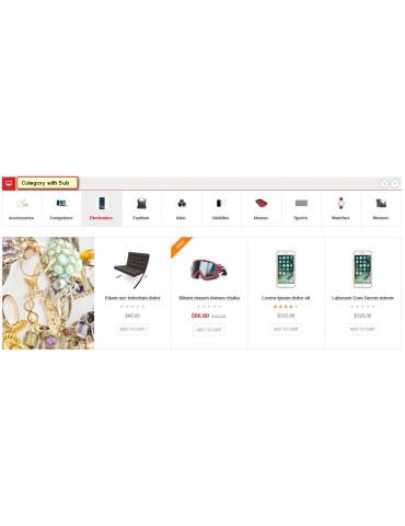 Nelson - Responsive Opencart  Theme