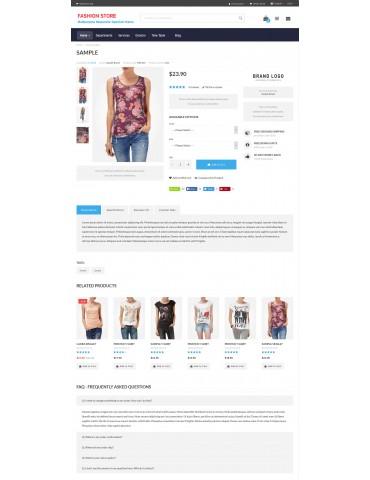 Fashion Theme for Opencart