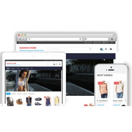 Fashion Theme for Opencart