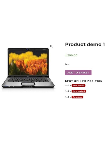 Best Sellers for Woocommerce