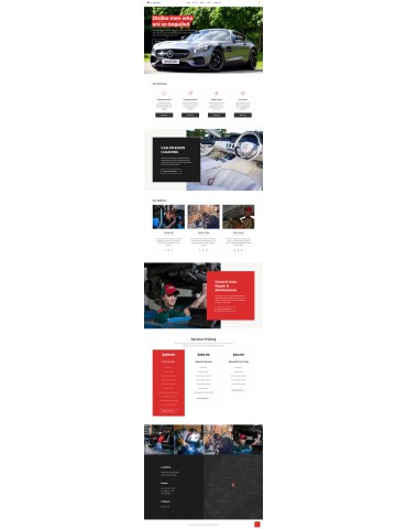 Car Warranty responsive Wordpress theme