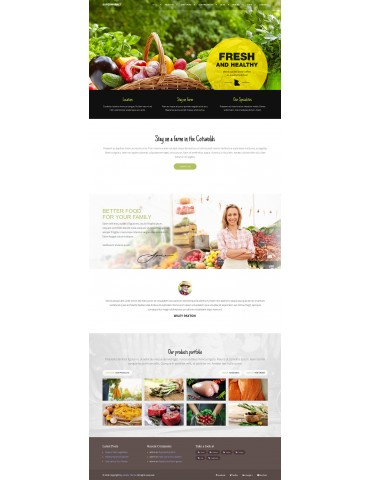Supermarket  - Food & Retaurant Woocommerce Wordpress theme