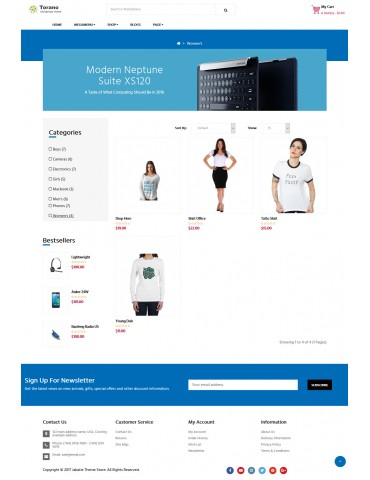 Torano - Woocommerce responsive wordpress theme